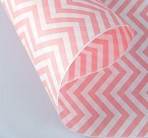 Бумага белая крафт 70гр/м2, 50см х 10м, 2сторонняя Зигзаг розовый: цена 167.40 руб., купить оптом  | Интернет-магазин «Микрос»
