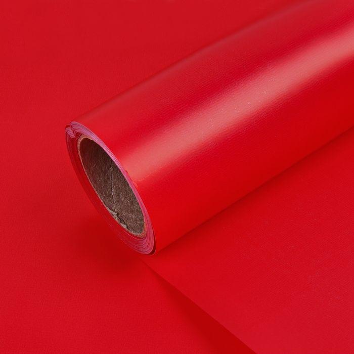 Бумага матовая 50см х 10м, красный, 50мкр: цена 304 руб., купить оптом  | Интернет-магазин «Микрос»