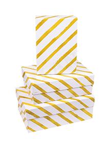 Набор коробок 3в1 прямоугольник 19х12х7,5 / 17х11х6,5 / 15х10х5см, Золотая диагональ: цена 304.30 руб., купить оптом  | Интернет-магазин «Микрос»
